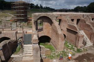 Кусочек раскопок Circo Massimo