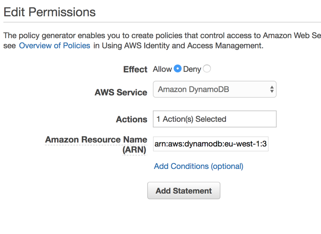 Building an Amazon Lambda function to write to the DynamoDB